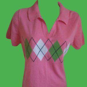 Tommy Hilfiger Pink Sweater Medium